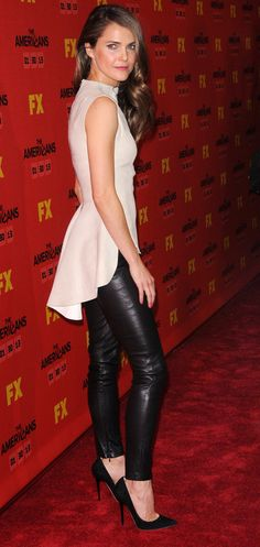 Keri Russell at The Americans screening