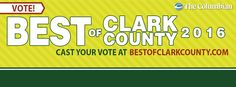 We want to thank all of you for voting in this year's Best of Clark County. The winners will be announced on March 23rd, but no matter how many votes we received, we feel like winners every day thanks to wonderful friends like you!