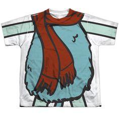Fraggle Rock: Boober Uniform Sublimated Youth T-Shirt