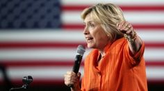 Clinton goes negative with Trump