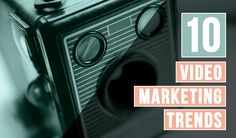 10 Video Marketing Trends for 2015 - #Infographic #contentmarketing