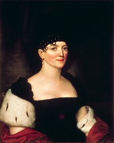 Elizabeth Kortright Monroe (1768 – 1830) - First Lady of the United States from 1817 to 1825, as the wife of James Monroe, fifth President of the United States, who held the office for two terms.