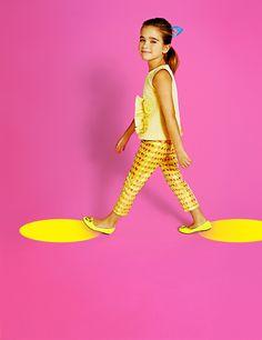#shapes #girl #studio #photoshoot #hairstyle #abstractfashion #kids  #fashion #kidsfashion #VogueBambini,  copyright by Luca Zordan