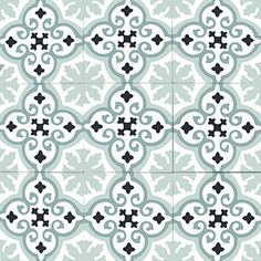 More than 500 cement tiles references in stock with immediate availability Mosaic Diy, Mosaic Tiles, Tiles Online, House Tiles, Vintage Tile, Vinyl Tiles, Bathroom Floor Tiles, Painted Floors, Carpet Tiles