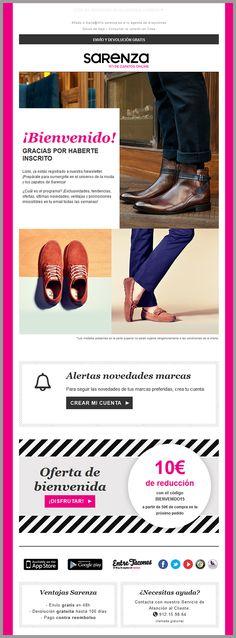 Sarenza.es ejemplo de segmentación efectivo para marketing por email