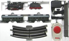 Piko 57110 - Start set Treno passeggeri, a vapore  scala h0 modellismo ferroviario plastico del treno
