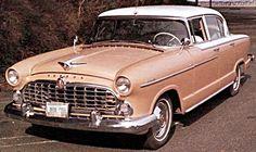 Cars of the 1950's / Hudson  1955 Hudson Hornet
