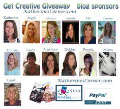 """Get Creative Giveaway"" by ""Katherine's Corner"""