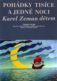 Plakát 2/3 k filmu Pohádky tisíce a jedné noci (1974) | Kinobox.cz