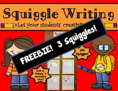 Here are THREE free Squiggle Writing samples.Thanks so much for considering purchasing Squiggle Writing! Want to knowHow Squiggle Writing Started Fifty Years Ago?Interested in purchasing the full product?Squiggle Writing: Drawing + Writing = CreativityIt's the perfect activity to get your students' creative juices flowing because it merges writing and drawing together. 1st Grade Writing Prompts, First Grade Writing, Writing Skills, Kindergarten Literacy, Literacy Centers, Teacher Newsletter, Creative Writing, Back To School, Teaching