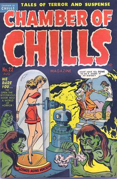 Comic Book Cover For Chamber of Chills Magazine 22 [2]