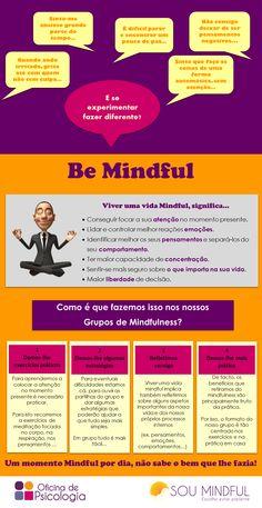 Be Mindful, como aprender a estar mais presente no seu dia-a-dia