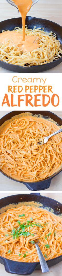 Ich mache eine Variante dieser cremigen Pasta Gericht mindestens einmal im Monat. Es ist soja-frei, ölfrei und milchfrei.