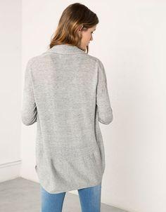 Bershka knit jacket - Woman - Bershka Egypt