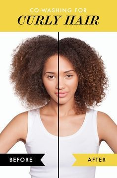 http://www.shorthaircutsforblackwomen.com/co_washing/ Check out the before and afters of co washing your curly hair! It's the no poo answer to ALL of your hair prayers.