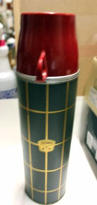 1960s Vintage Thermos Brand Glass Lined Tall Thermos | eBay