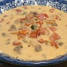 HCG Diet (P3) Creamy Southwestern Taco Soup