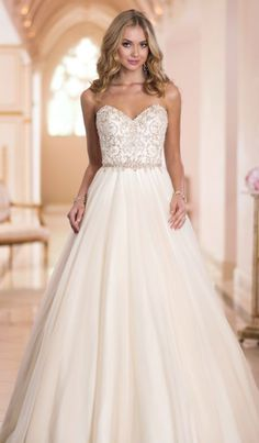 Wedding dress idea; Featured Dress: Stella York
