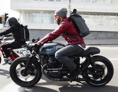 Why ride a motorcycle? Riding is something most people don't have to do, but rather feel compelled to–for a wide variety of reasons ranging from passion to practicality. Retro Motorcycle, Cafe Racer Motorcycle, Motorcycle Style, Bike Style, Moto Style, Cx500 Cafe Racer, Cafe Racer Build, Scrambler, Moto Cafe
