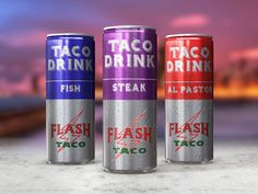 First #Energy Taco #Drinks in #History By #FLASHTACO - #Fish - #Steak & #Alpastor Flavors Please call for more Info 312-877-6600 #FlashTacoLife #SixCorners #WickerPark #Bucktown #food #hungry #chitown #chicago #foodporn  #tacotuesday #taco #trump #love #art #love