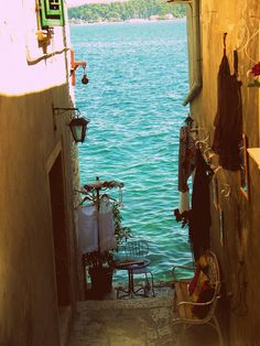 Seaside, Rovinj, Croatia. repinned by LaVieAnnRose ~ take a peek at my other boards