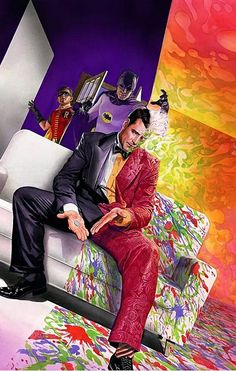 A forthcoming DC comic, Batman '66: The Lost Episode #1, is set to explore just what Two-Face's appearance in the show would have looked like. What's more, comic-book legend Alex Ross has created a cover for the comic