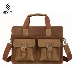94.35$  Watch here - http://ali88i.worldwells.pw/go.php?t=32648983710 - Genuine Leather Men's Briefcase Handmade Cowhide  Vintage Business Laptop Briefcase Suitcases Men's Travel Bags maletas 1080