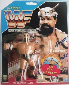 Wrestling Superstars, Wrestling Wwe, Wwf Toys, Wwf Hasbro, Wwe Action Figures, Hobby Toys, Wwe Champions, Wwe Wallpapers, Barbarian