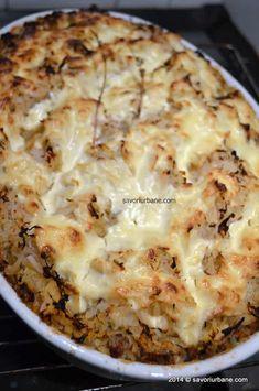 Varza a la Cluj reteta de familie | Savori Urbane Carne, Cauliflower, Macaroni And Cheese, Cabbage, Pie, Vegetables, Cooking, Ethnic Recipes, Desserts