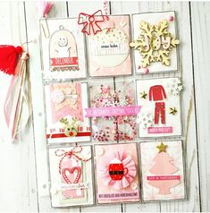 Pocket Letters, December Daily, Joy And Happiness, Dear Santa, Warm And Cozy, Cheer, Gift Wrapping, Lettering, 52 Reasons