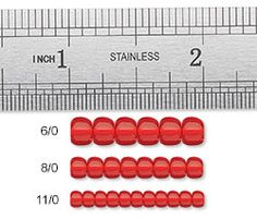 A Guide to Seed Beads -  size, color, etc.  #Seed #Bead #Tutorials...