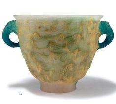François DECORCHEMONT, Conches , Vase 1920
