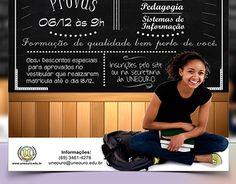 Proposta de arte para campanha do Vestibular UNEOURO.