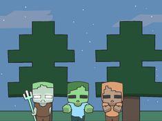 Minecraft Comics, Minecraft Stuff, Monster School, Best Games, Oc, Fanart, Fictional Characters, Ideas, Drawings