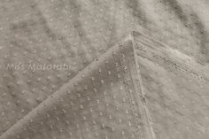 Japanese Fabric Swiss Dots - cotton lawn - taupe - 50cm