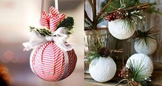 Nejlepší banánové recepty   jaksiudelat.cz Sewing Projects, Projects To Try, Acorn Crafts, Pine Cones, Christmas Bulbs, Pergola, Creations, Table Decorations, Holiday Decor