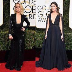 Tem como preto dar errado? Little black dress red carpet edition com as gatas da Kristen Bell e Mandy Moore! No Fashionismo tem uma outra dezena de looks! Link na bio!