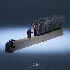 田中達也創意攝影新作:Miniature Calendar 系列 2