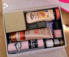 The Powdered Nose: The Glamour Beauty Edit Box - Latest in Beauty