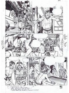 Flourescent Black (HeavyMetal) #2 page 9(Nudity) - Nathan Fox Comic Art