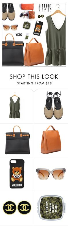 """""""yoins485"""" by nastenkakot ❤ liked on Polyvore featuring Hermès, Moschino, Dolce&Gabbana, Chanel, The Hand & Foot Spa, yoins, yoinscollection and loveyoins"""