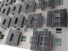 Low Energy Housing. My balconies are a solar cell empowering my appartment!