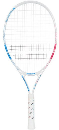 """NEW Babolat B-Fly Junior 25"""" Tennis Racquet.   This 25"""" racquet is ideal for young players between 9-11 years of age. Good for the small junior just starting out.  $35.00 Tennis Racket, Age"""