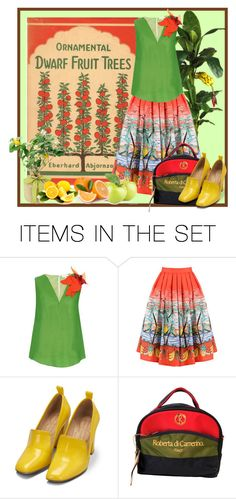 """Fruit Tree"" by sowana3 ❤ liked on Polyvore featuring art"