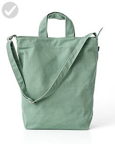 BAGGU Duck Bag Canvas Tote - Olive - Little daily helpers (*Amazon Partner-Link)