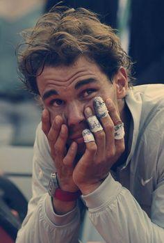Rafaholics: RG Photos: Rafaholics Favorties of the Final Tennis Rafael Nadal, Nadal Tennis, Tennis Photography, Portrait Photography Men, Tennis Match, Le Tennis, Tenis Nadal, Tennis Pictures, Rafa Nadal