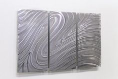 Hand Painted Metal Abstract Modern Wall Art by statements2000, $195.00