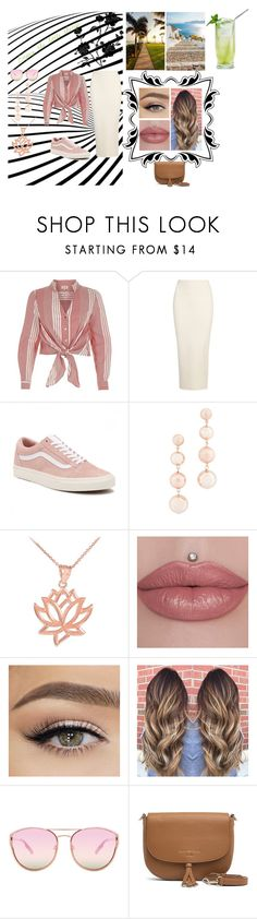 """""""Enjoy the little things"""" by lemmestyle on Polyvore featuring River Island, Yeezy by Kanye West, Vans, Rebecca Minkoff, Quay and Tommy Hilfiger"""