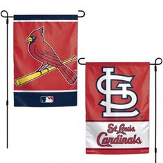 Prove that you're the ultimate St. Louis Cardinals fan with this garden flag from WinCraft! It features authentic St. Louis Cardinals graphics and colors that'll make your fandom obvious. No one will mistake your die-hard St. Sports Flags, Sports Baseball, Baseball Party, Mlb World Series, Flag Banners, Flag Stand, Baseball Season, St Louis Cardinals, Garden Flags