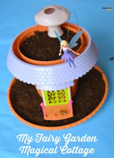 Grow Your Own Fairy Garden: My Fairy Garden Cottage Playset Kids Fairy Garden, Book Reviews For Kids, Learning Apps, Cool Gifts For Kids, Garden Cottage, Parent Gifts, Grow Your Own, Pretend Play, Fun Projects